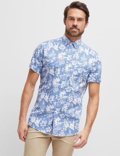 Rufus Short Sleeve Printed Shirt