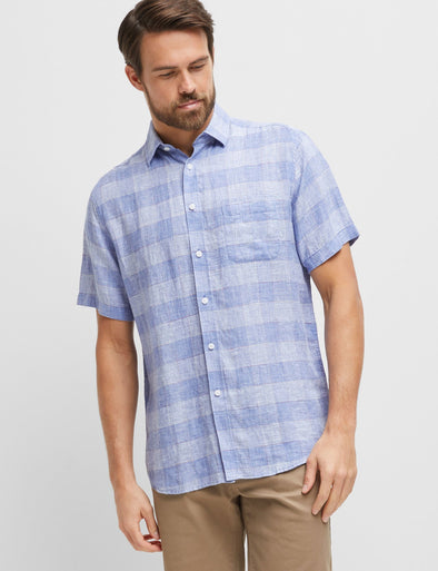 Duke Linen Short Sleeve Shirt