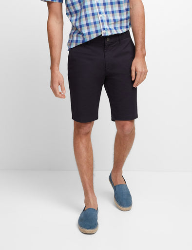 Stretch Twill Short - Dark Navy