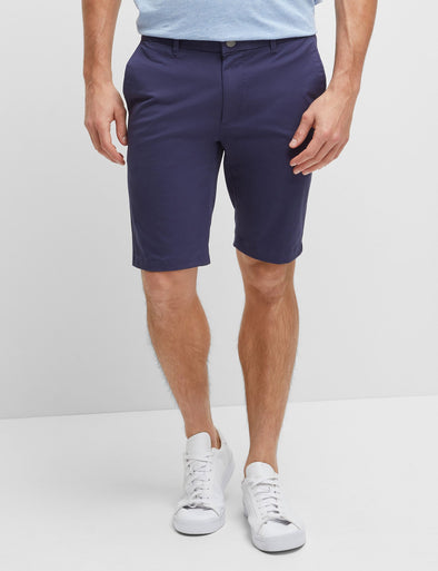 Stretch Twill Short - Faded Blue