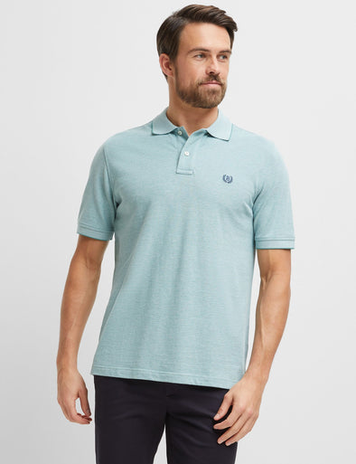 Oxford Pique Polo - Green