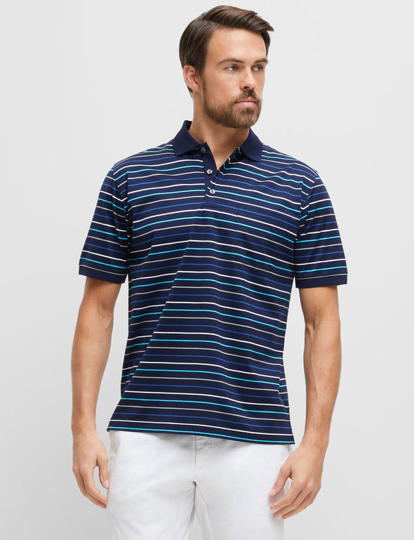 Norris Mercerised Cotton Polo