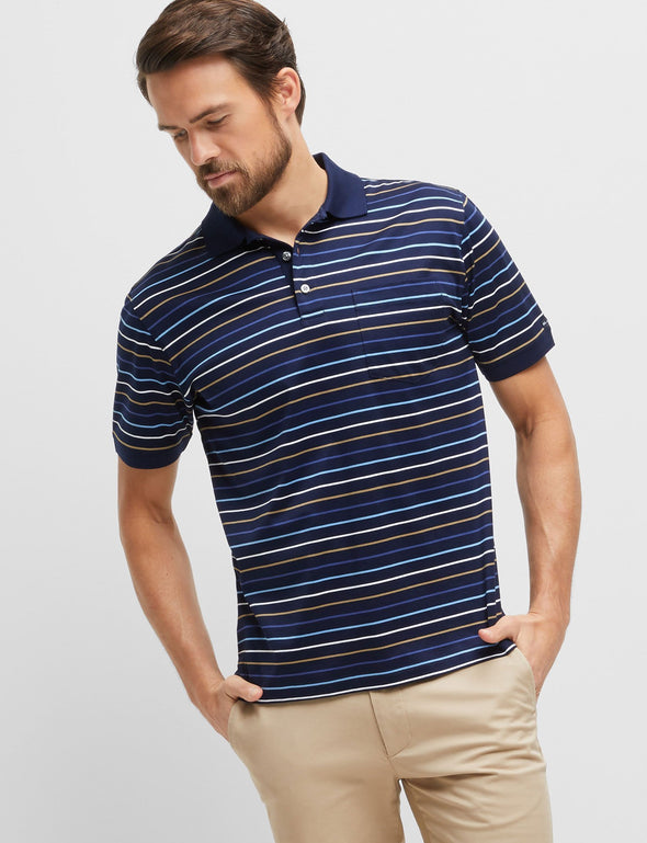 Norris Mercerised Polo