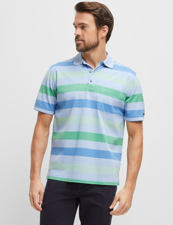 Mitch Mercerised Cotton Polo