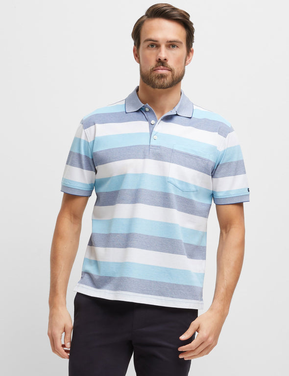 Jake Mercerised Cotton Polo