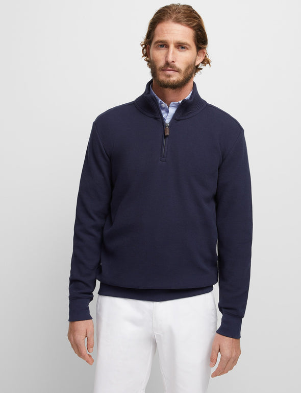 Russell Textured Knit - Navy