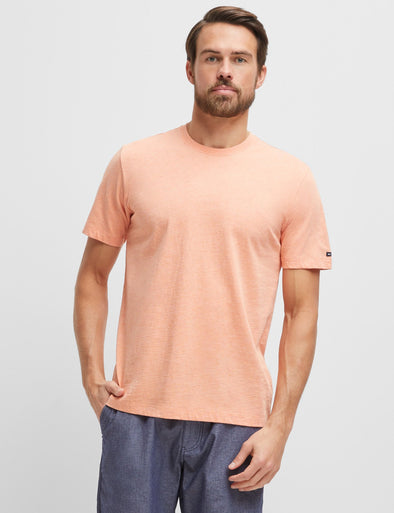 Classic Tee - Orange Marl