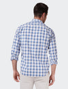 Finley Long Sleeve Check Shirt - Navy/Blue