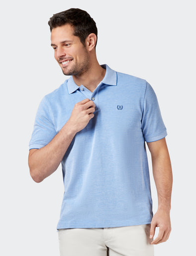Liam Oxford Polo - Blue