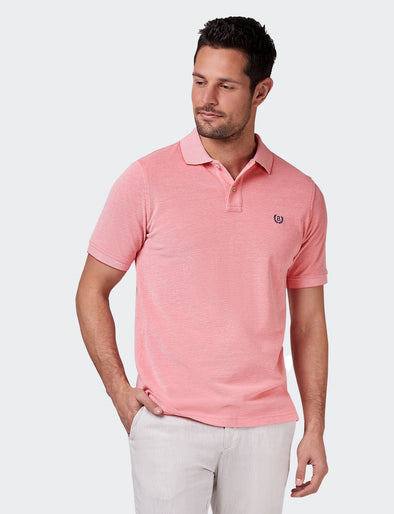Liam Oxford Polo - Coral