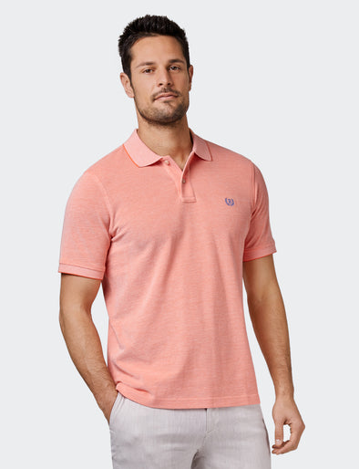 Liam Oxford Polo - Orange