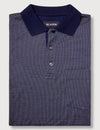 Ellis Mercerised Polo  - Navy