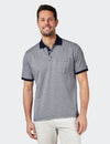 Connor Mercerised Polo - White/Navy