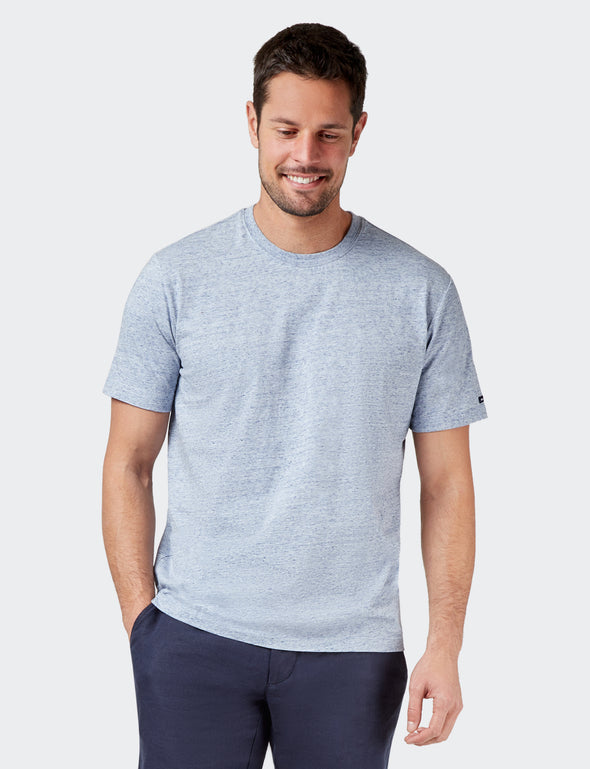 Classic Tee - Faded Blue