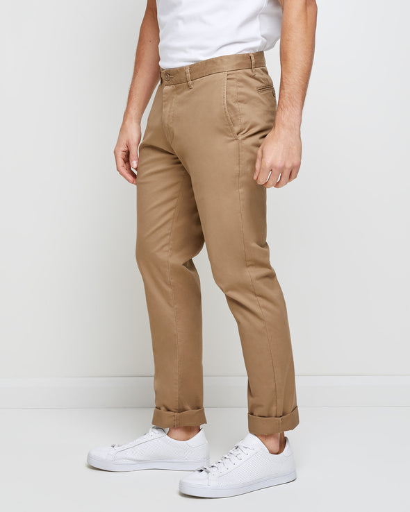 Hawthorn Stretch Chino Tall - Walnut