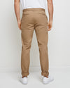 Hawthorn Stretch Twill Chino - Walnut - Back