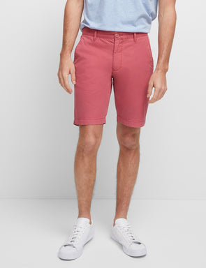 Balmain Chino Short - Dusty Red