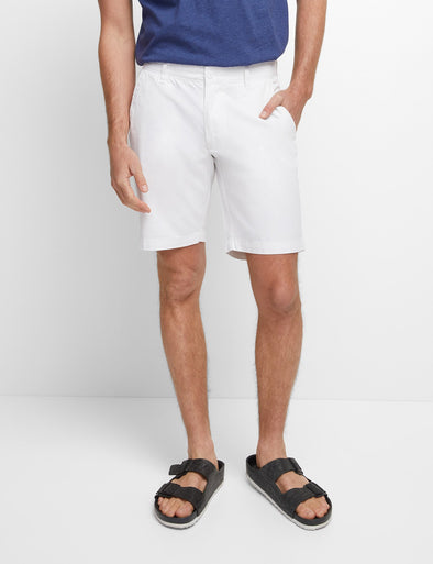 Balmain Chino Short Big Mens - White
