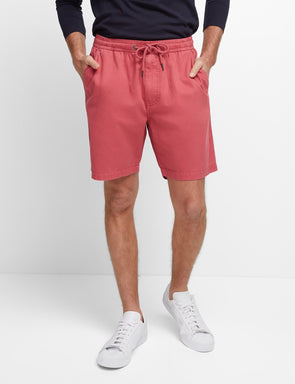 Portsea Beach Short - Red