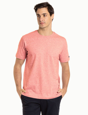 Classic Tee - Coral Marl