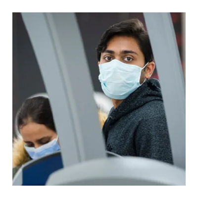 Air passengers will be required to wear non-medical masks starting April 20