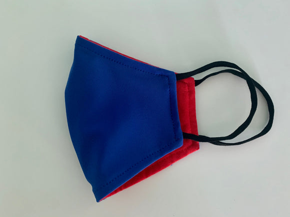 The Dream Mask - Royal Blue Repreve & Red Bamboo