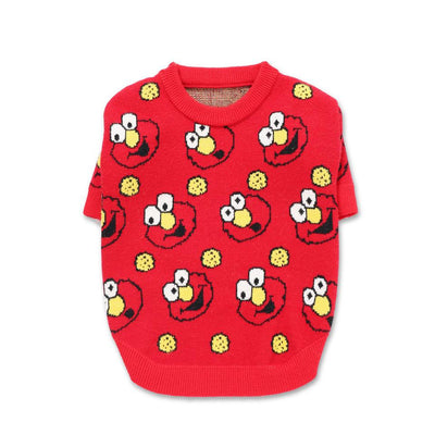 Elmo Swag Red Street Sweater