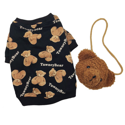 Hot Tawney Bear Drip Sweater