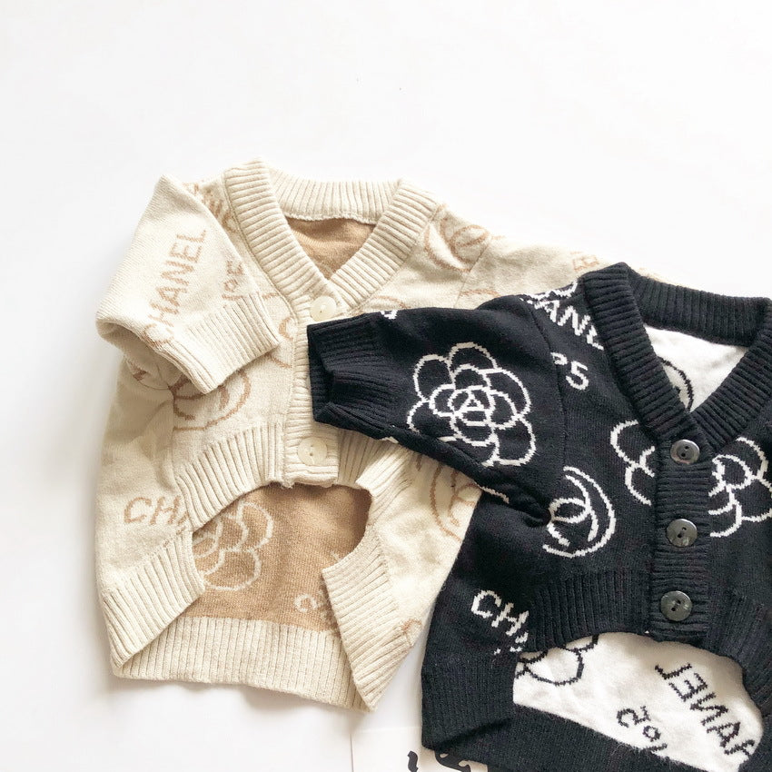 CC Classic Doggy Cardigan Sweater