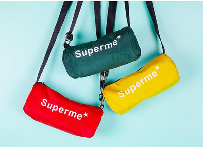 Supreme Hiking neon travel bag for Doggo