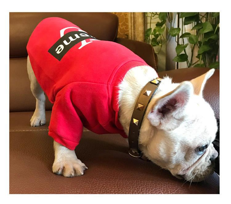 LV Pupreme Red & Black Fly Pup Sweater