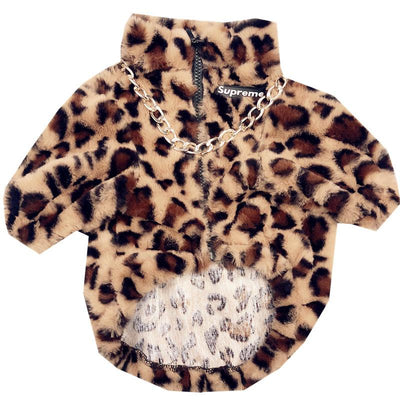Supreme Leopard Rockstar Jacket (HOT ITEM)