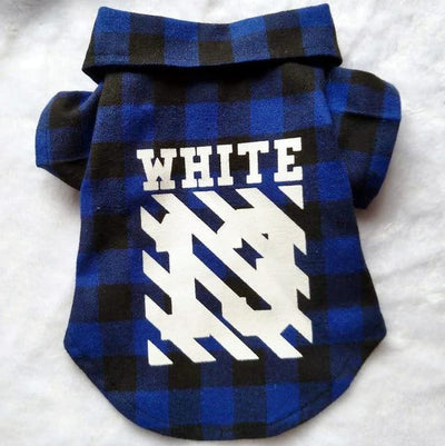 Off White Plaid Swag Venice Beach Shirt