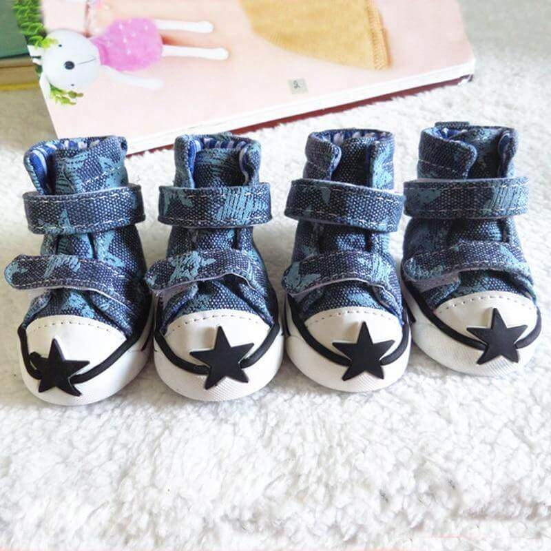 All Star Denim HQ Swag Shoes 4pcs