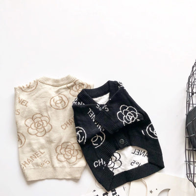 CC Flower Print Sweater 2020