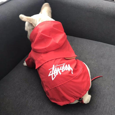 Stussy Pups High end Windbreaker Raincoat
