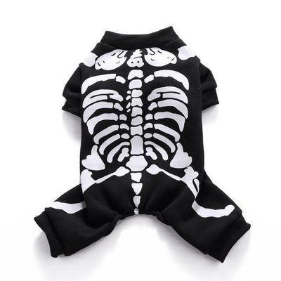 Skeletor Drippy Pets Halloween Costume for Dogs