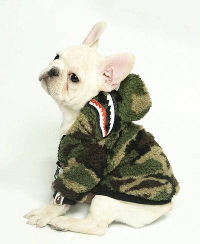 Barking Pup Camo Rockstar Coat (HOT ITEM)