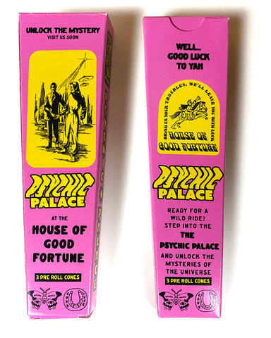 Psychic Palace Rolling Paper Cones