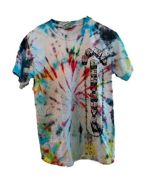 "Camp Destroyer ""NO FUN"" tie-dye T-shirt"