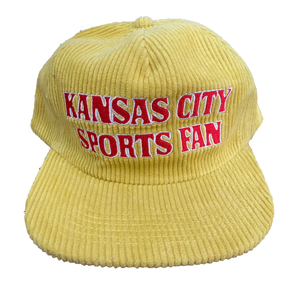 Kansas City Sports Fan snapback - Yellow
