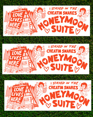 Honeymoon Suite sticker pack