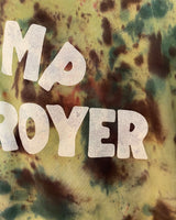 Camp Destroyer Camo Tie-dye Crewneck