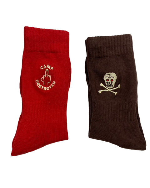 Camp Destroyer Field Socks