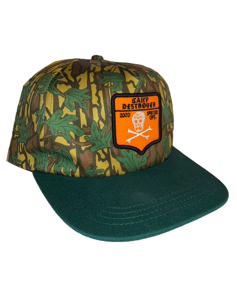 Camp Destroyer Special Ops Snapback