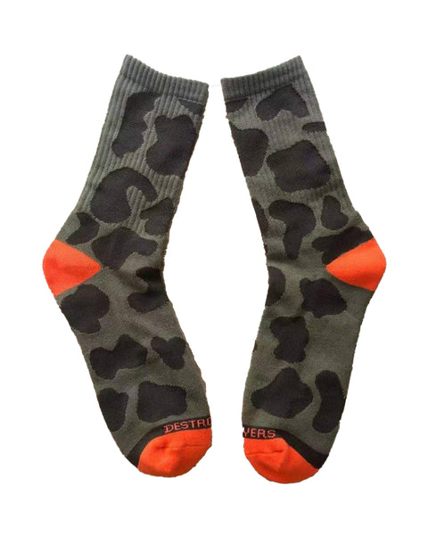 Camp Destroyer FIELD CAMO socks