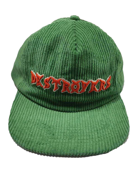 Heavy Metal Corduroy Snapback (Green)