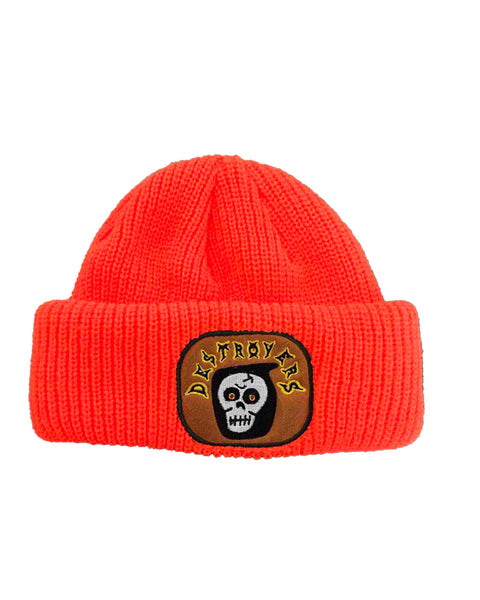 Camp Destroyer REAPER double roll beanie