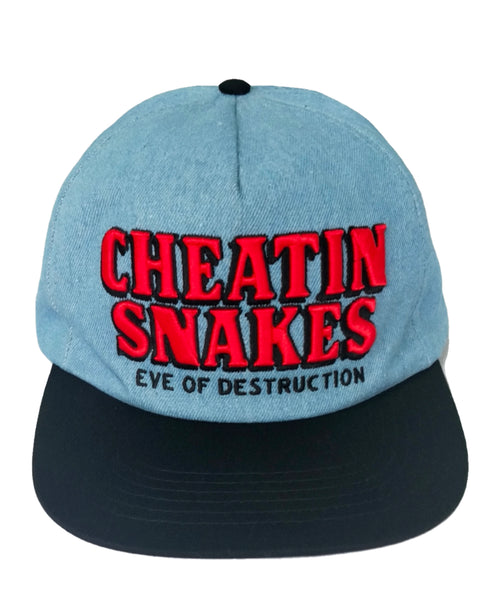 Eve of Destruction Denim Snapback