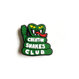 CHEATIN SNAKES CLUB CROC CHARMS
